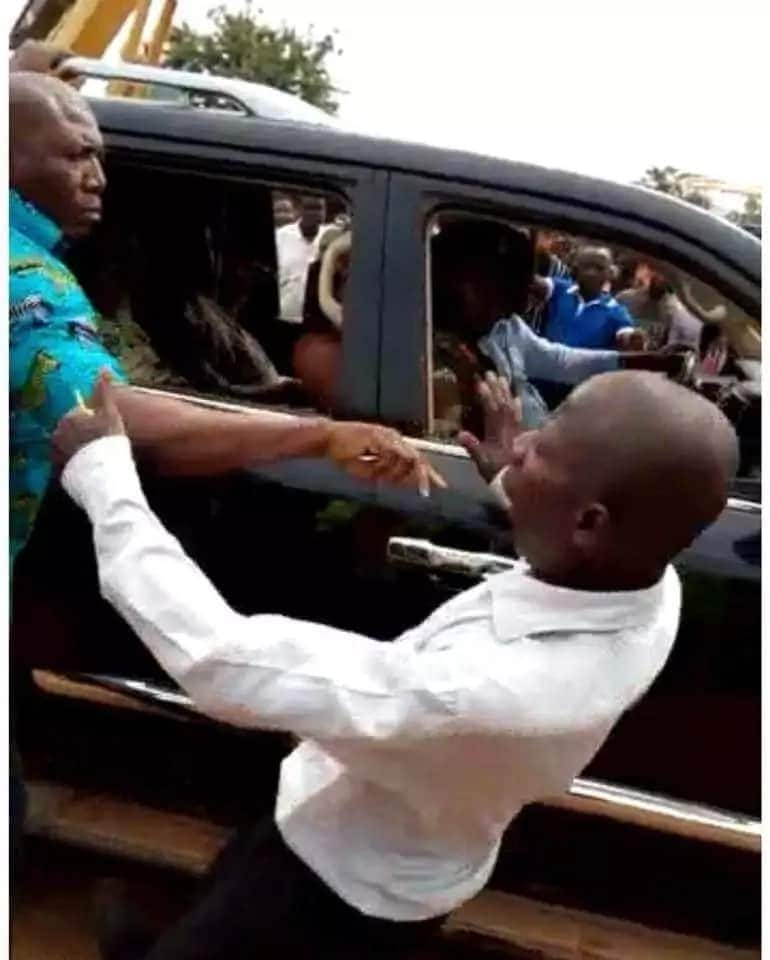 Mahama bodyguard also punched