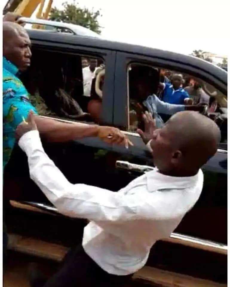 Akufo-Addo's bodyguard
