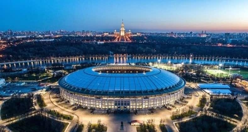 Here is the time for the opening ceremony for the World Cup