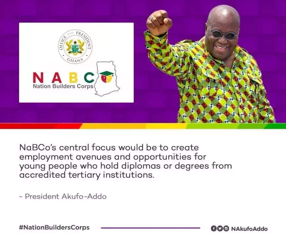 Nana Addo launches nation builders corps for jobless graduates