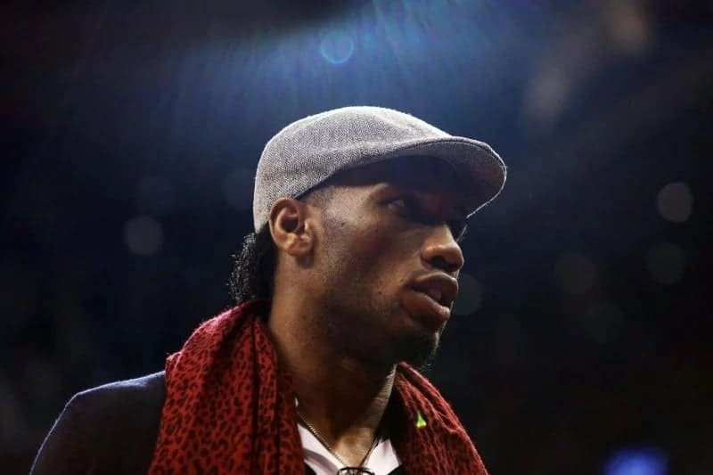 The Ivorian Football star, Didier Drogba