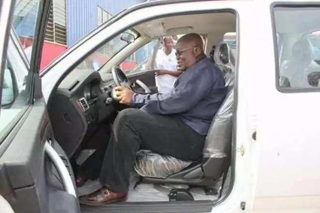 Apostle Safo launches G-Wagon like car