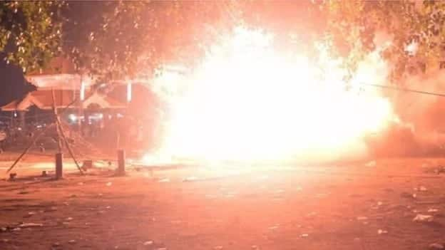Temple fireworks explosion kills hundreds in India