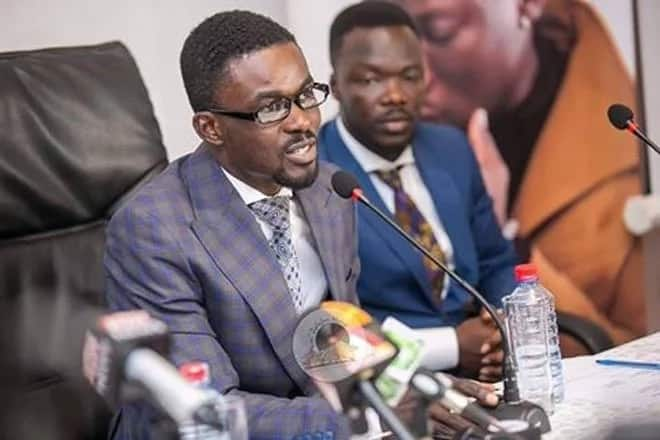 Zylofon Media CEO speaking at a press conference