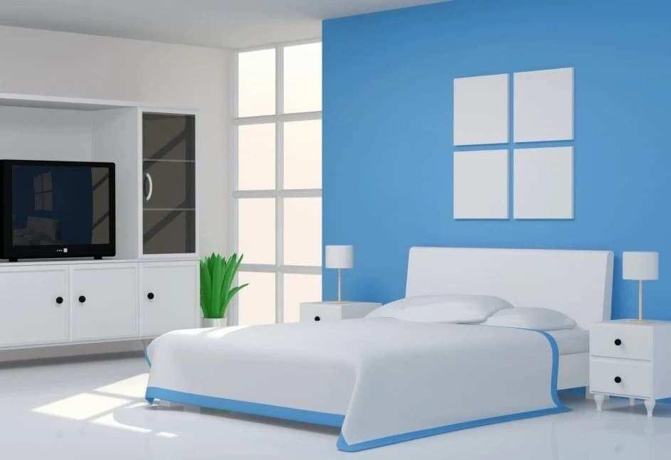 Monotone Room Painting Designs