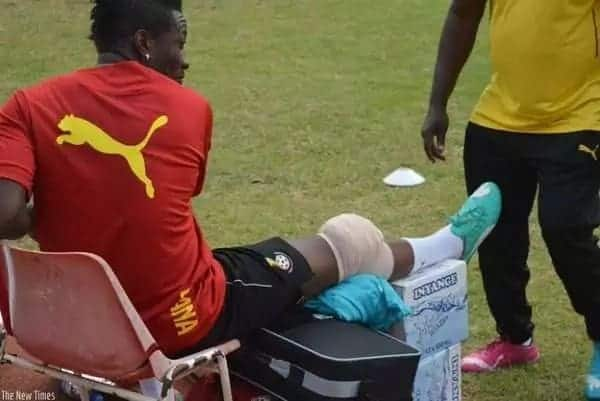 Asamoah Gyan and Christian Atsu ruled out of Egypt encounter with Black Stars