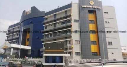 Completed Bank of Ghana hospital left unused