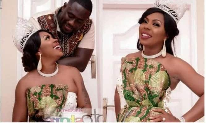Better Days: When Afia Schwarzenegger and her husband were chummy