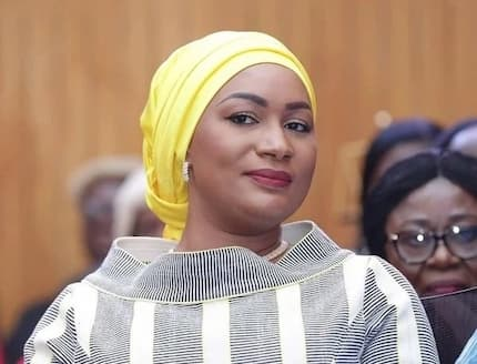 Samira Bawumia turns heads at Akufo-Addo's SONA with her exquisite dress