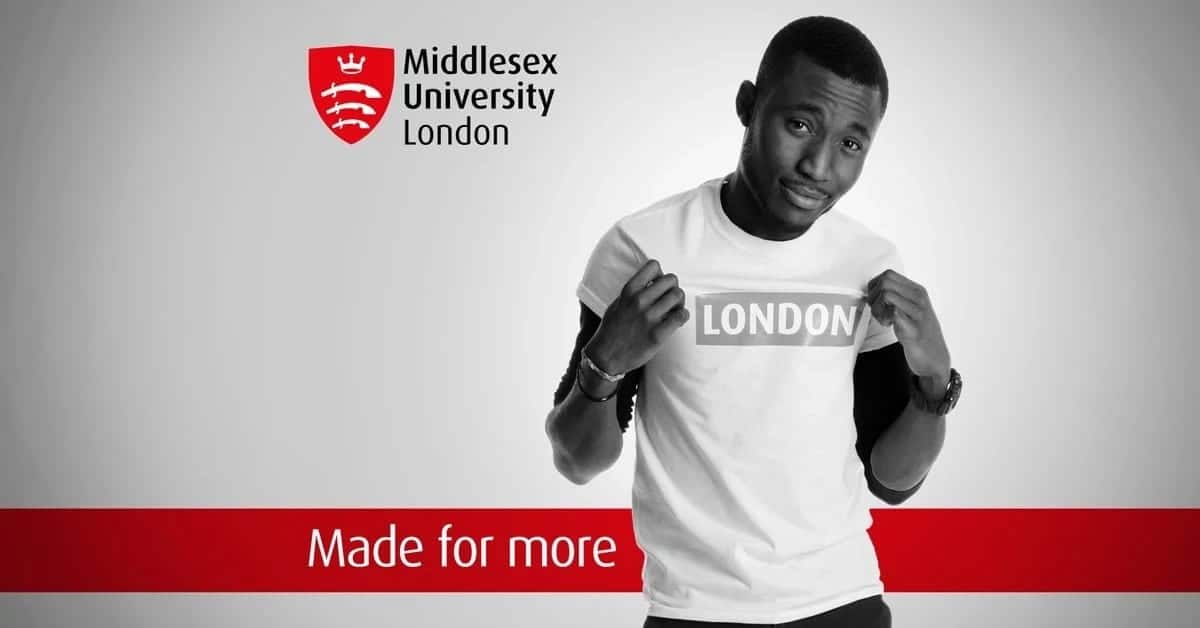 Apply for a Master's degree at Middlesex University (London, Malta, Dubai, Mauritius)