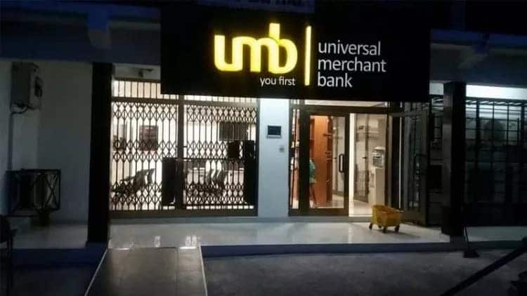 Location of universal merchant bank in Ghana