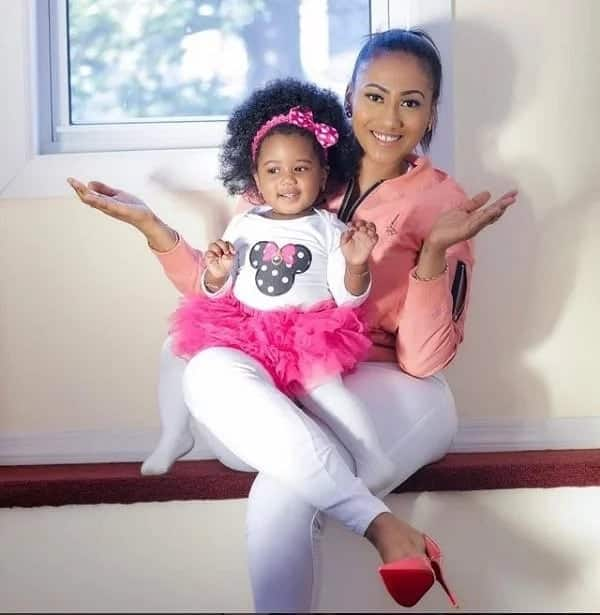 Hajia4Real shares a cute throwback photo of her daughter and everyone is talking about it