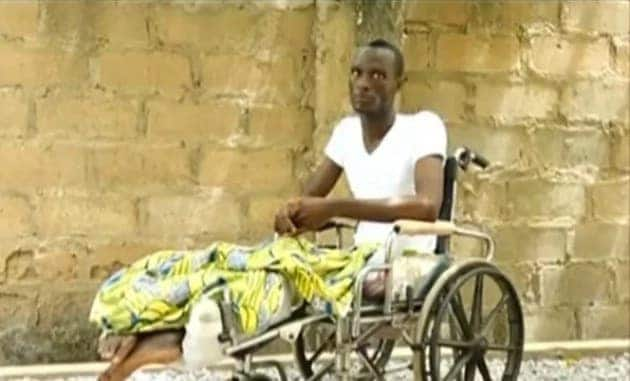 Video: Man left paralysed after he was shot by police over ¢10 Xmas gift