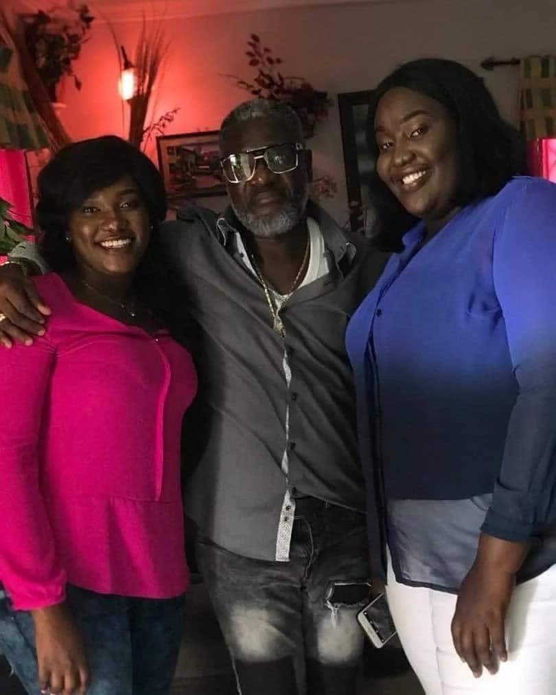 Father of late Ebony Reigns celebrates his birthday in grand style