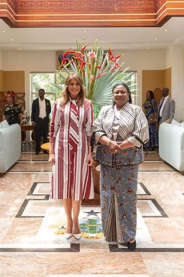 7 wild photos that prove Melania had great fun in Ghana