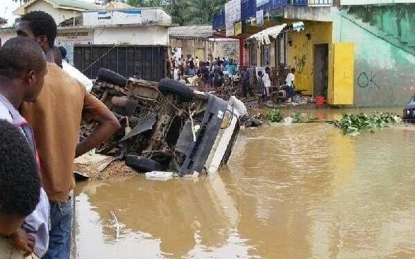 Family of six swept away by floods at Esereso near Kumasi