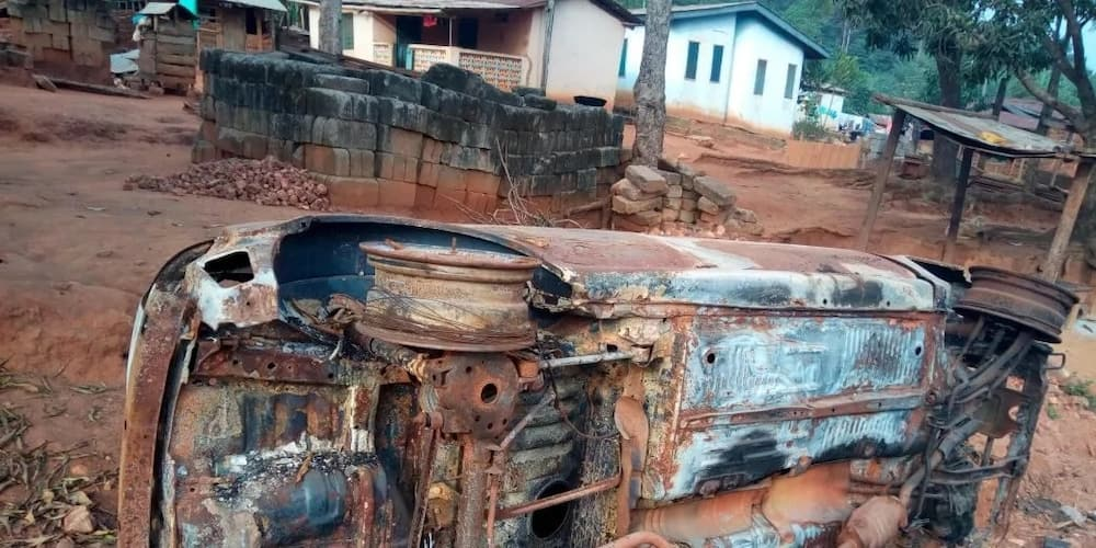 Chief beaten and stripped in chaos at Obuoho