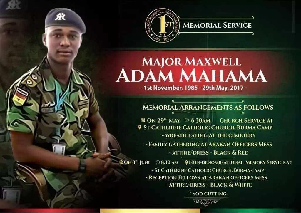A year on; how Major Mahama's death struck a chord with Ghanaians