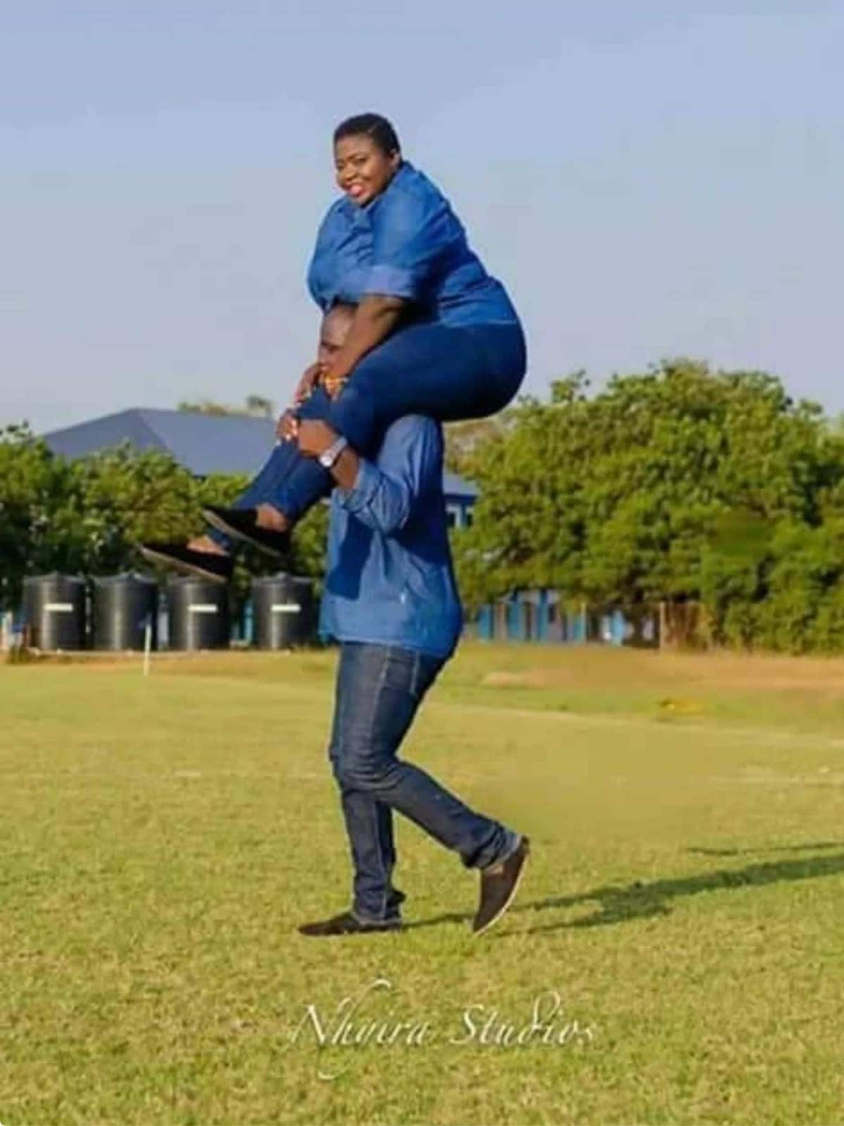 Latest pre-wedding photo of Ghanaian couple sets the internet on fire