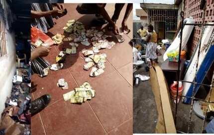 In Kumasi: Fire razes down police quarters, burning over GHS20,000 cash