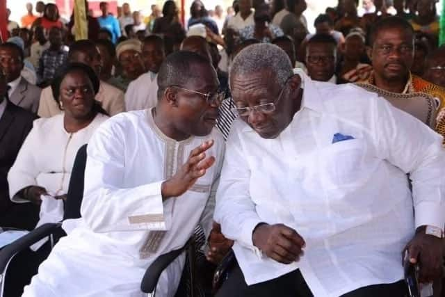Jospong may have its setbacks but he's a businessman worthy of emulating - Kufuor