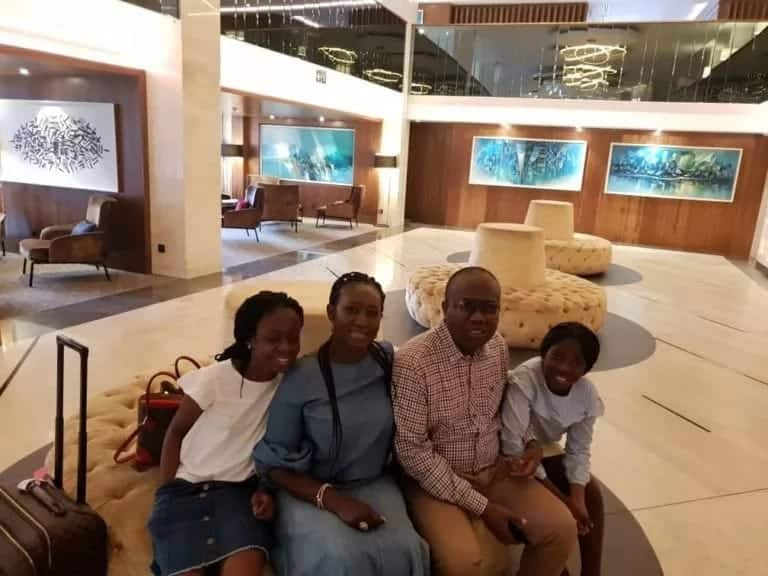 Photos of Kwesi Nyantakyi's beautiful first wife and children