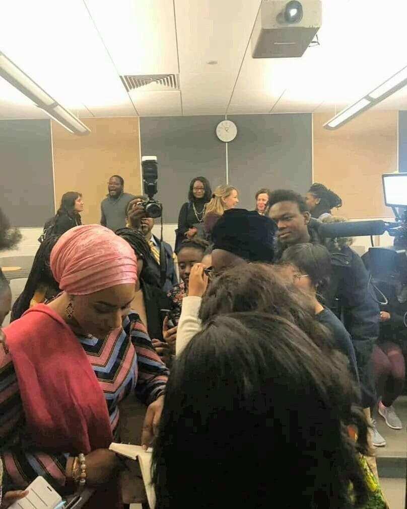 Samira Bawumia delivers stunning lecture at US university