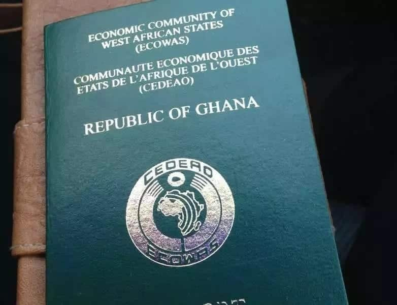 Download and fill Ghana biometric passport application form