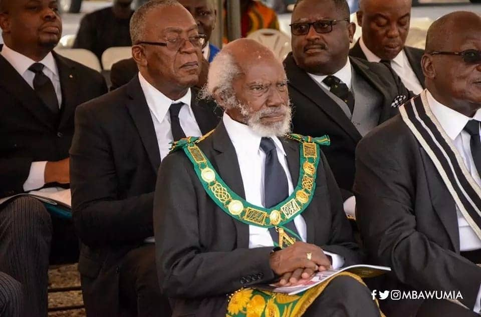Top Grand Lodge members pay their last respect to K.B. Asante