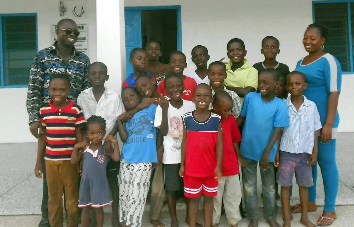 Names of orphanage homes in Ghana