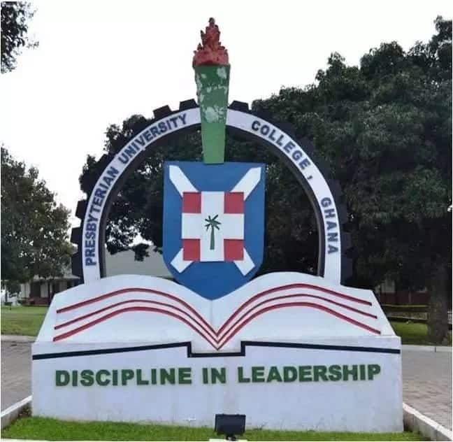 puc ghana presby university courses pucg admission