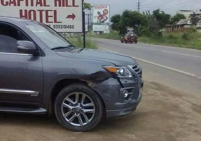 Adwoa Sarfo involved in accident en route to NPP's Delegates Conference