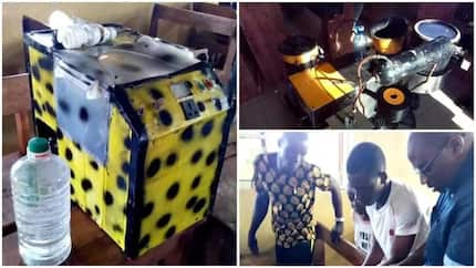 School children make generator which runs on water (Photos)