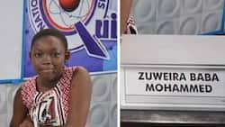Young Zuweira Mohammed was crowned 'Best Female Contestant' at the 2017 NSMQ