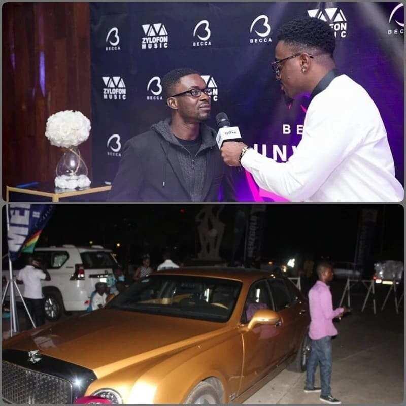nana appiah mensah fleet of cars zylofon media boss zylofon media ceo rolls-royce car