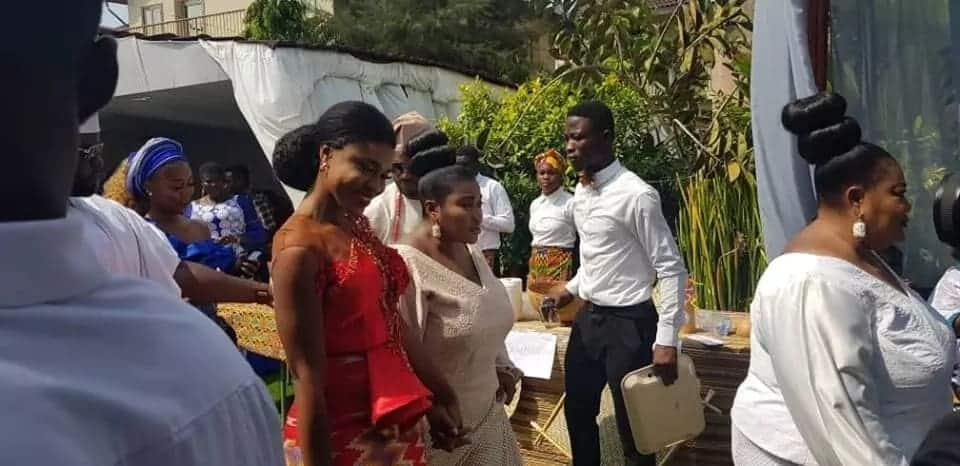 Photos and video from Becca's wedding ceremony