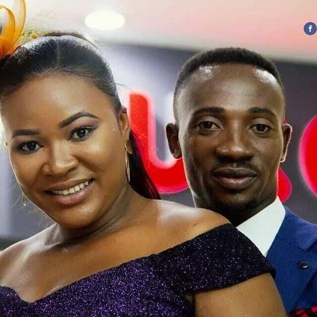 Oboy Salinko's shows off beautiful wife on 1st wedding anniversary