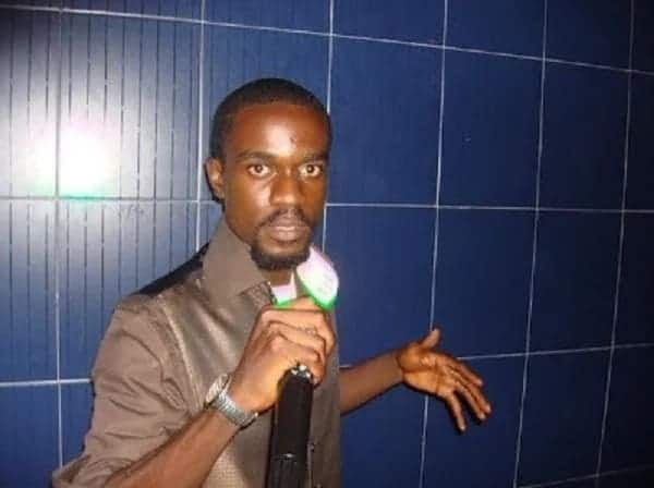 Perhaps during one of his rap battles in Tema