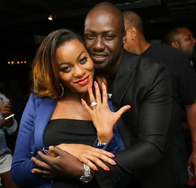 Chris Attoh and Damilola in good times.