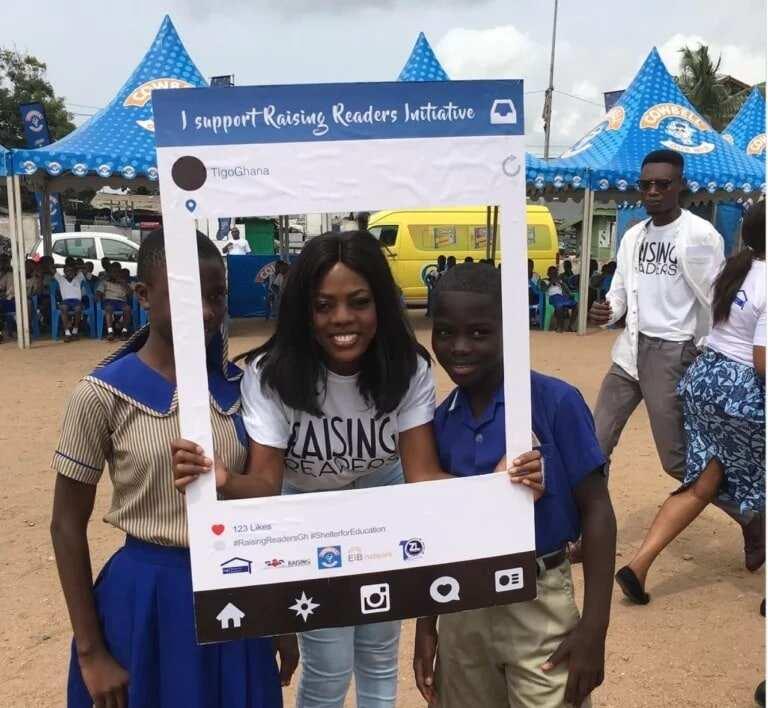 Nana Aba at Raising Readers launch