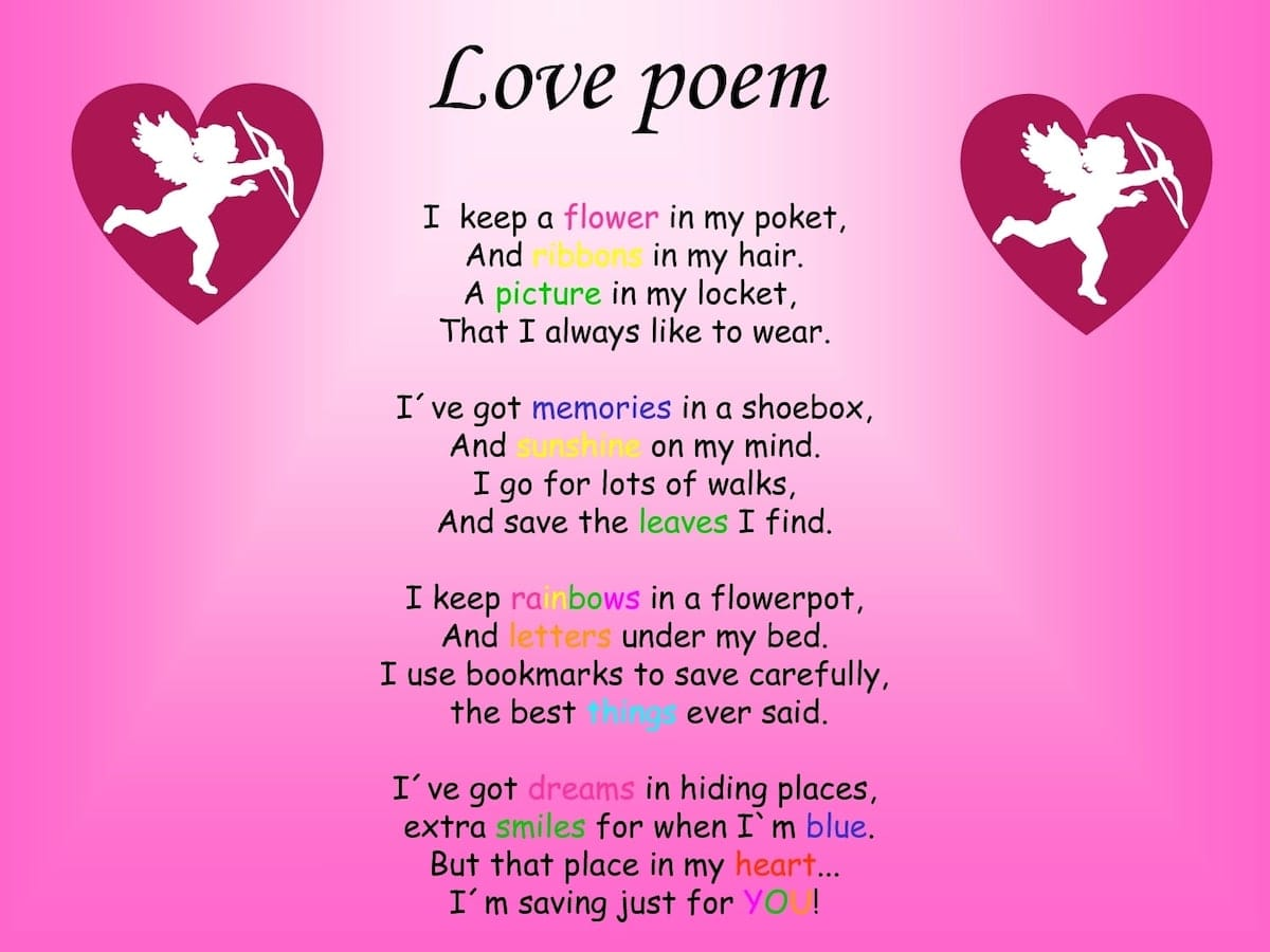 Something Love poems for him