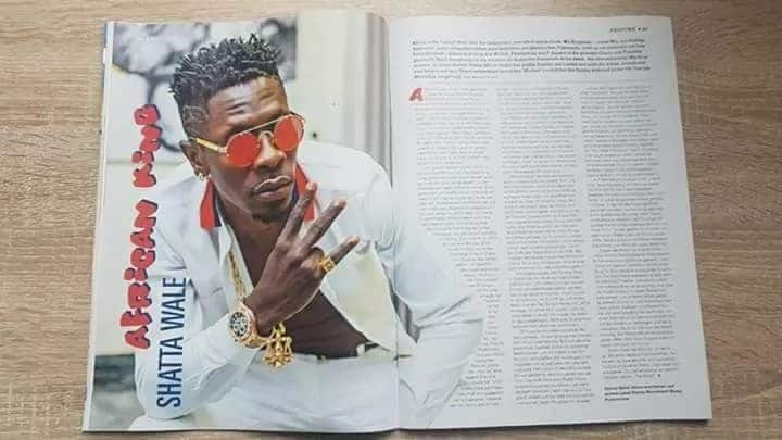 Shatta Wale Featured in German arts and culture magazine