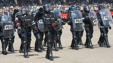 Ada: Police arrest 37 residents for confronting officers on duty