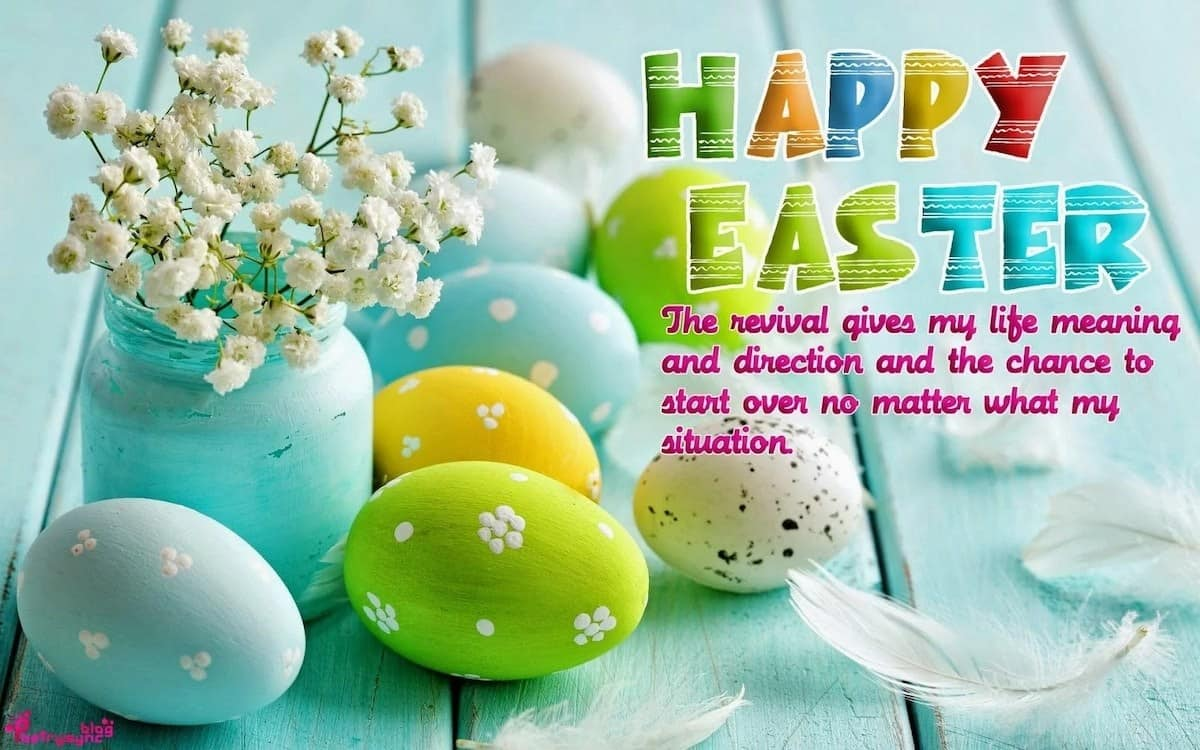 Happy Easter messages, greetings, and sayings