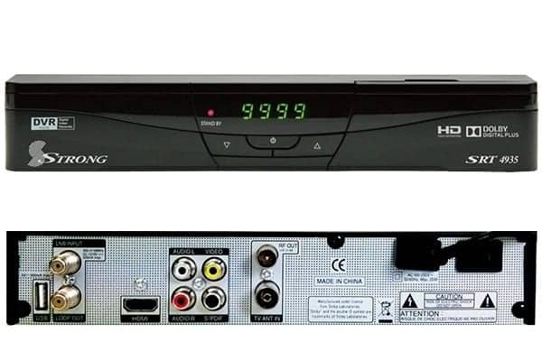 List of strong decoder channels