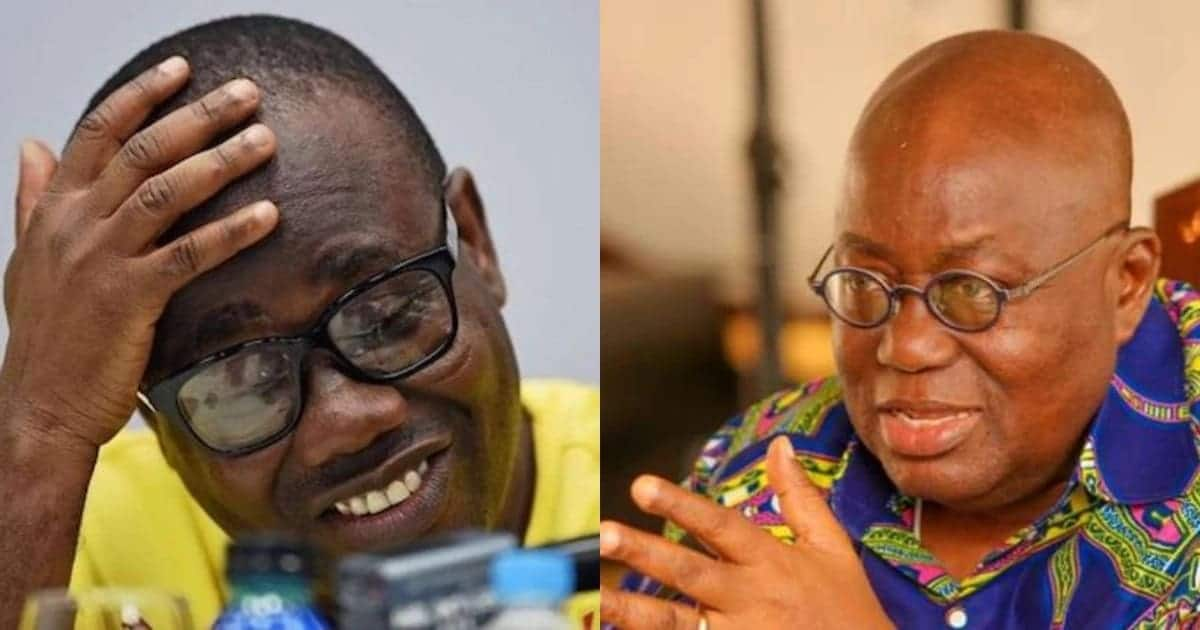 President Akufo Addo ahs ordered the arrest of Mr Nyantakyi
