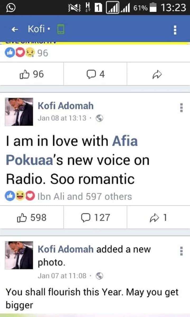Kofi Nwanwani and Afia Pokuaa