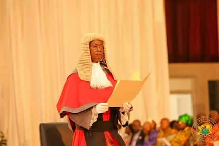 Chief Justice Akuffo showers praises on former presidents of Ghana for their contributions to her professional journey