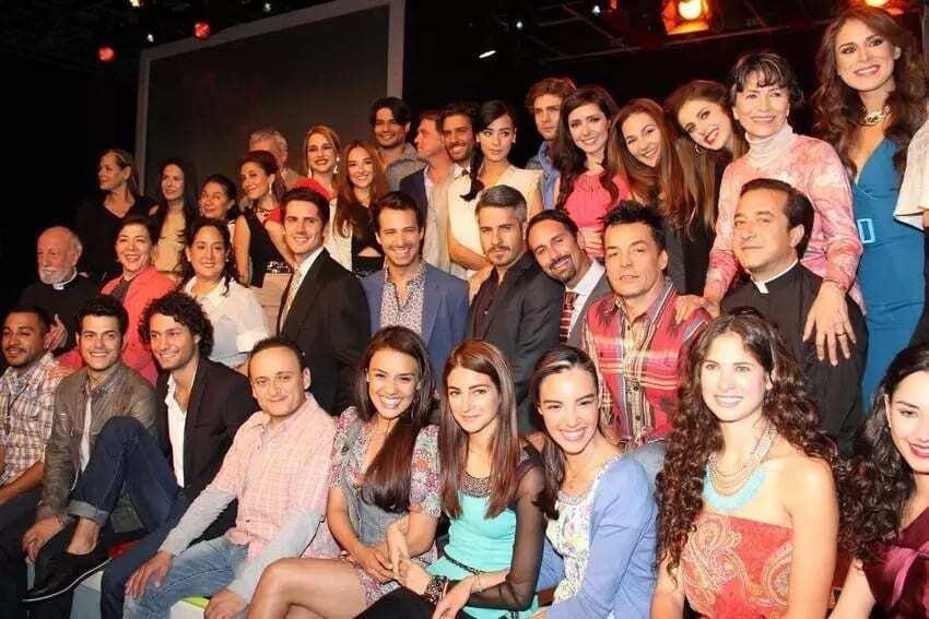 Passion and power Telenovela cast