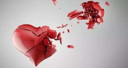 Sad broken heart messages